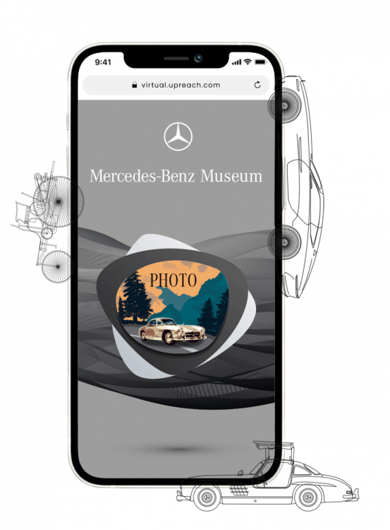 Virtuelle Fotobox Mercedes 2